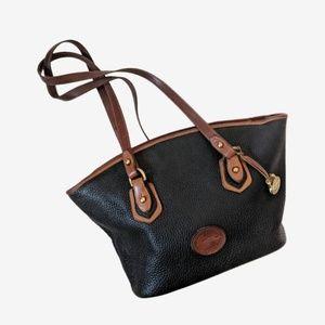 Dooney & Bourke|Rare AllWeather Leather Bucket Bag